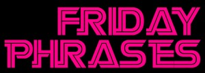 Friday Phrases Logo