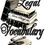 Legal Vocabulary Logo