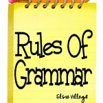 Rules Of Grammar Logo