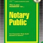 Notary Public Passbook