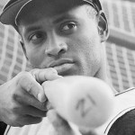 Roberto Clemente With Bat