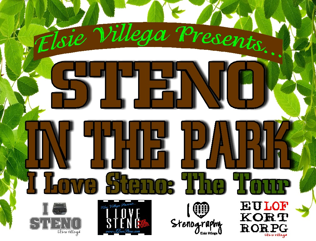 Steno In The Park Logo
