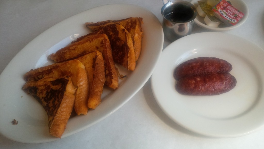 French Toast Turkey Sausage