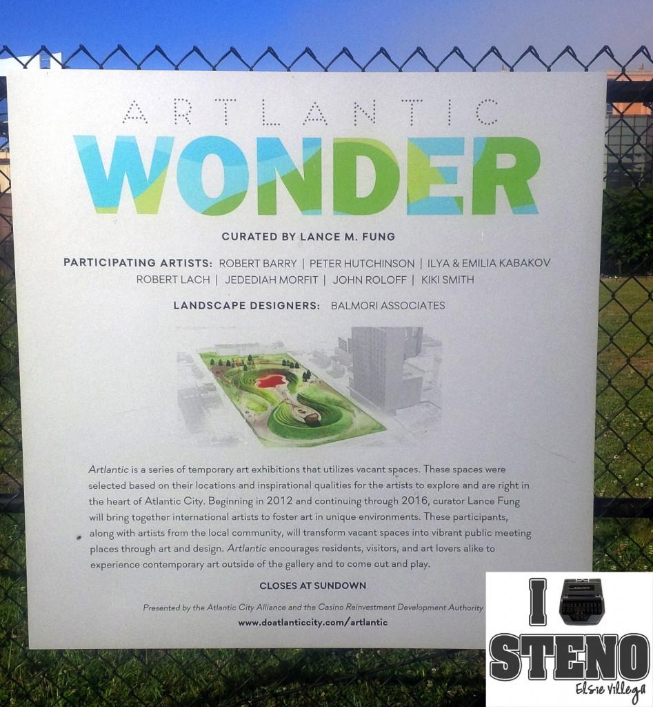 Wonder Park Sign