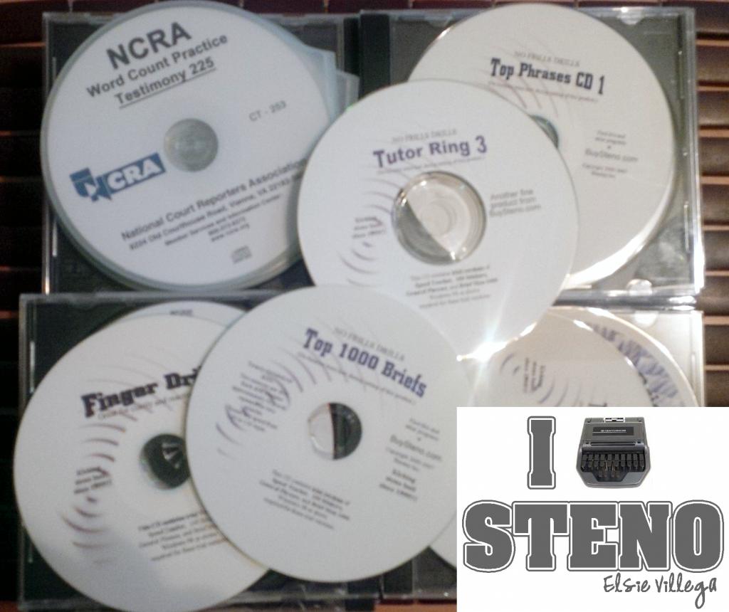 Steno Dictation CDs 2