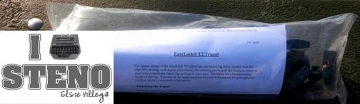 T2 Tripod Packaged