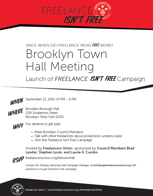 Brooklyn Town Hall Meeting