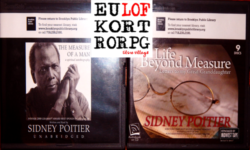 Sidney Poitier Books On Tape