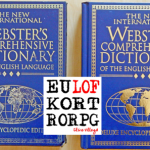 Dictionary Before And After Front