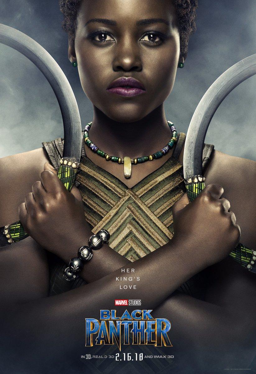 Black Panther Lupita Poster