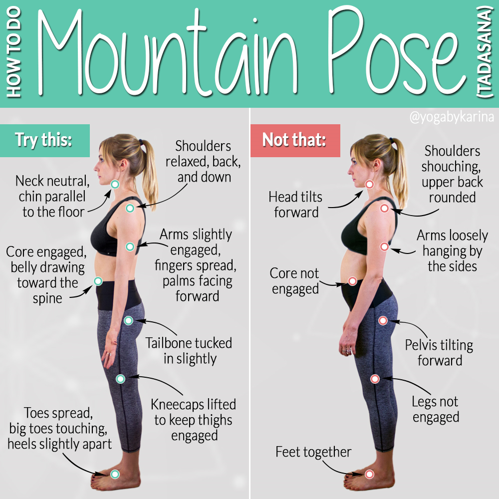 Mountain Pose Dos and Donts