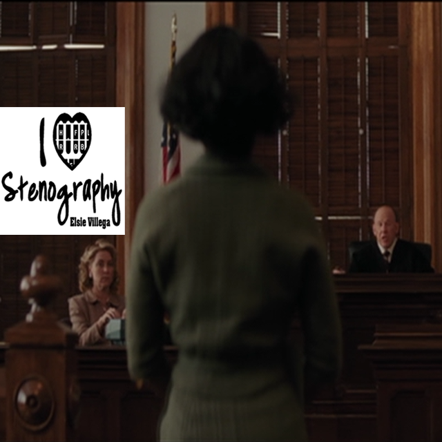 Court Reporter Spotted Hidden Figures